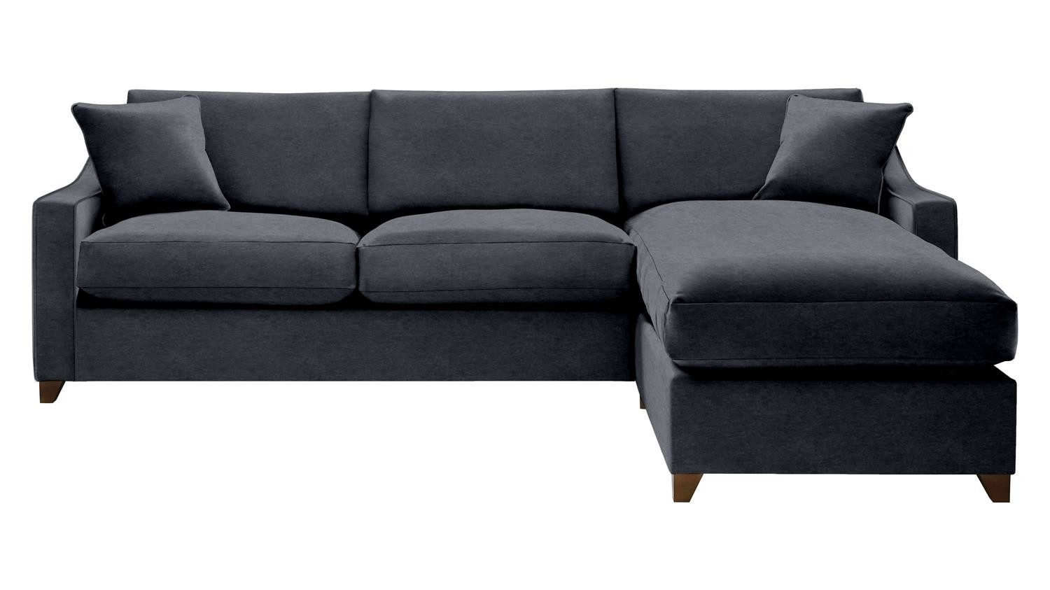 The Bermerton 4 Seater Right Chaise Storage Sofa Bed