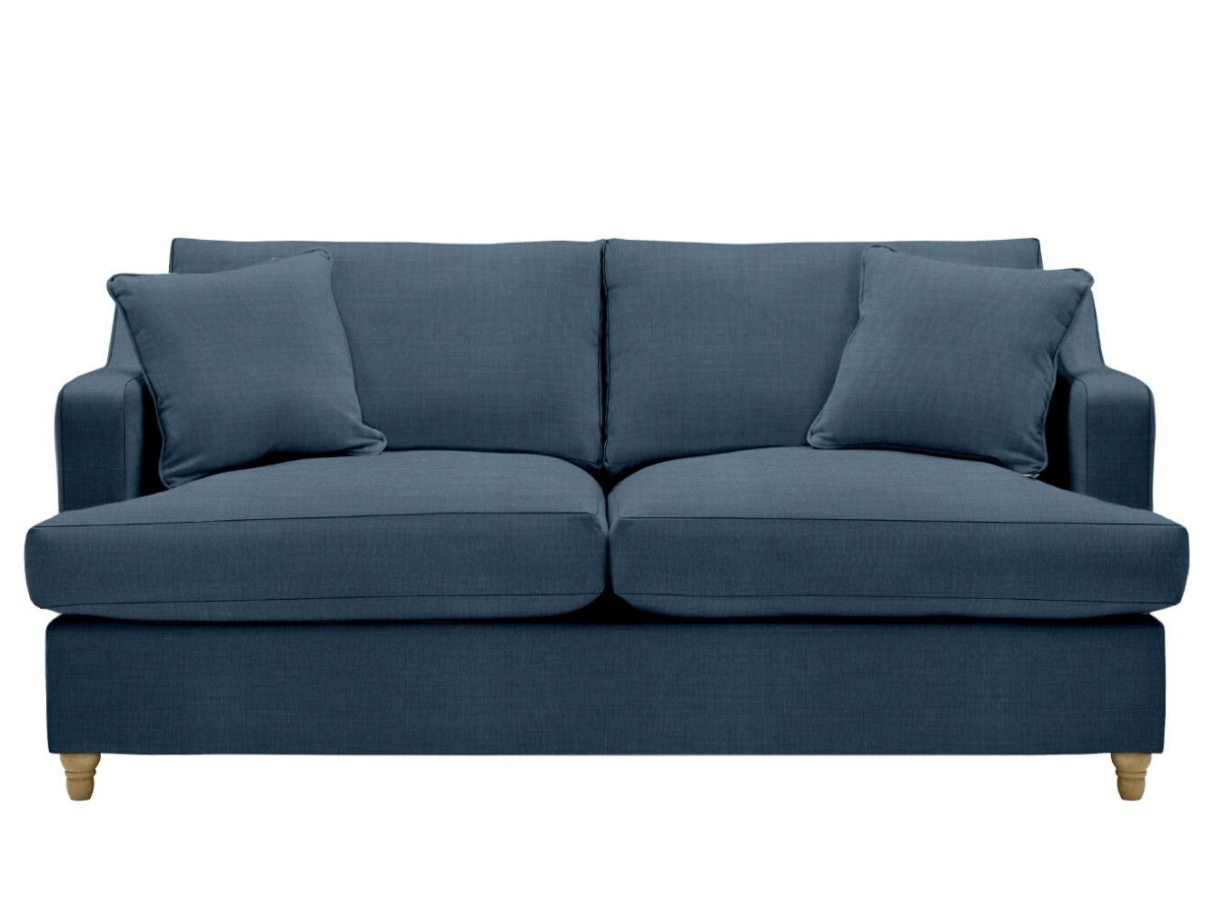 This is how I look in Brushed Cotton Midnight Blue with siliconized hollow fibre seat cushions
