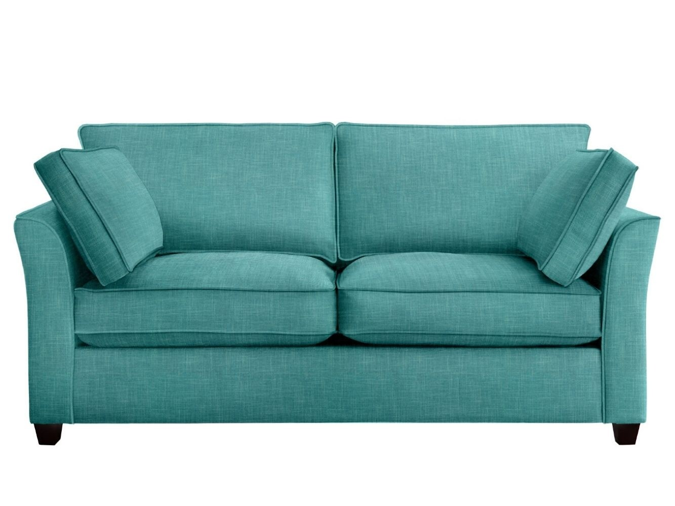 This is how I look in Linen Azure (Discontinued Fabric) with siliconized hollow fibre seat cushions