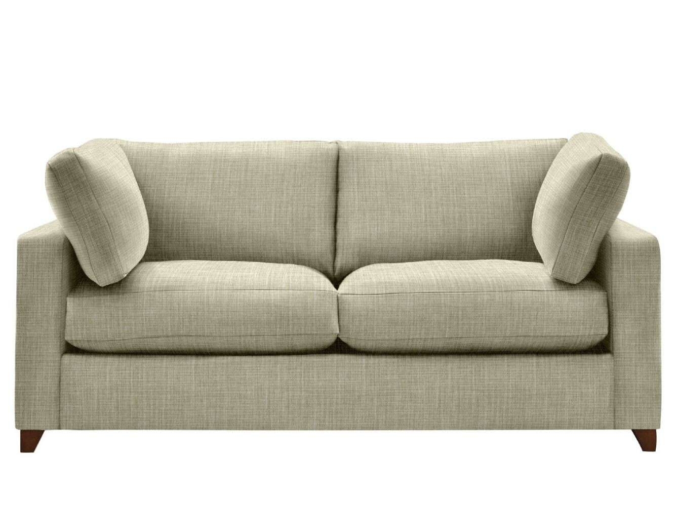 This is how I look in House Linen Vintage Grey with siliconized hollow fibre seat cushions