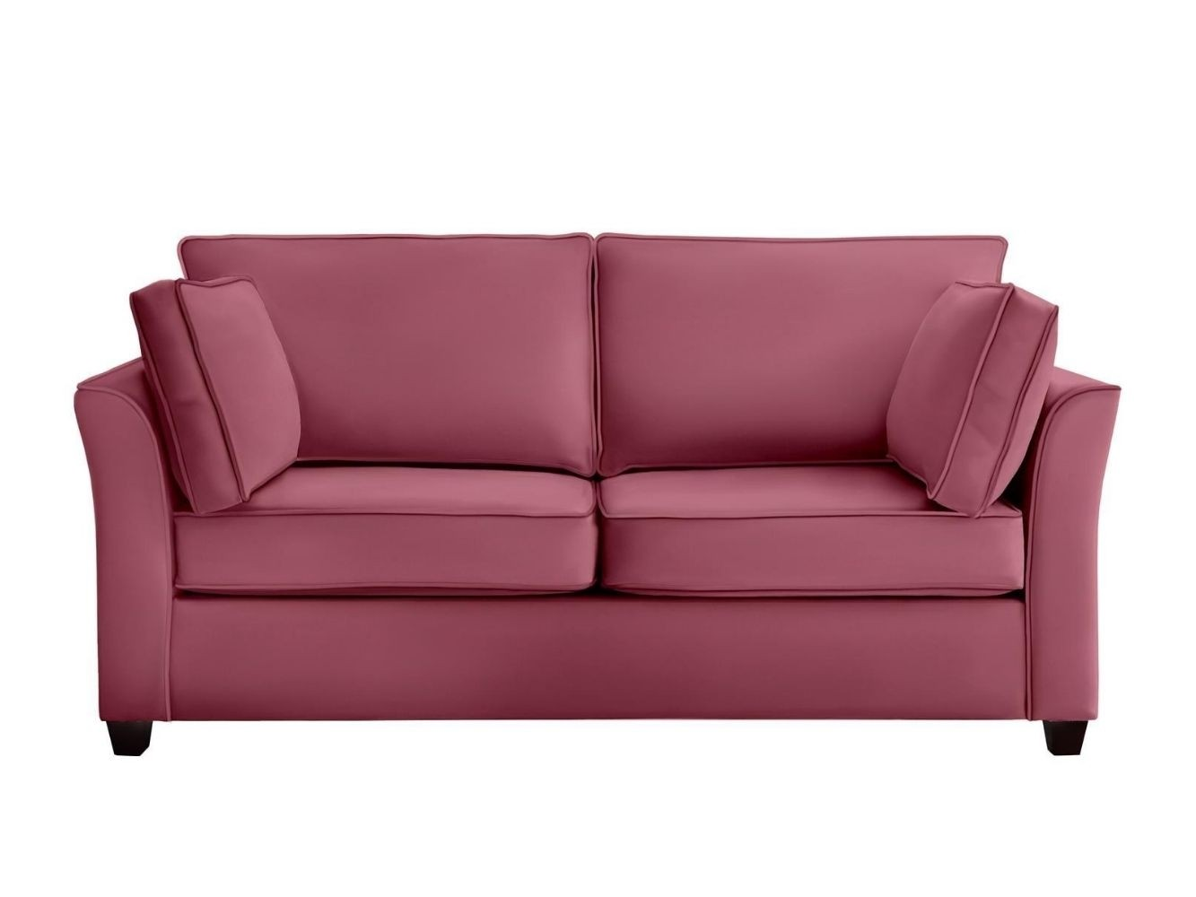 This is how I look in Stain Resistant Deep Velvet Fuchsia with reflex foam seat cushions