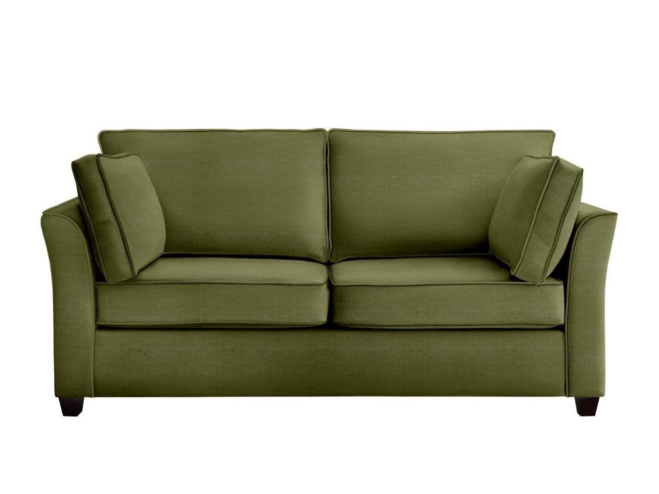 This is how I look in Stain Resistant Deep Velvet Kale with reflex foam seat cushions