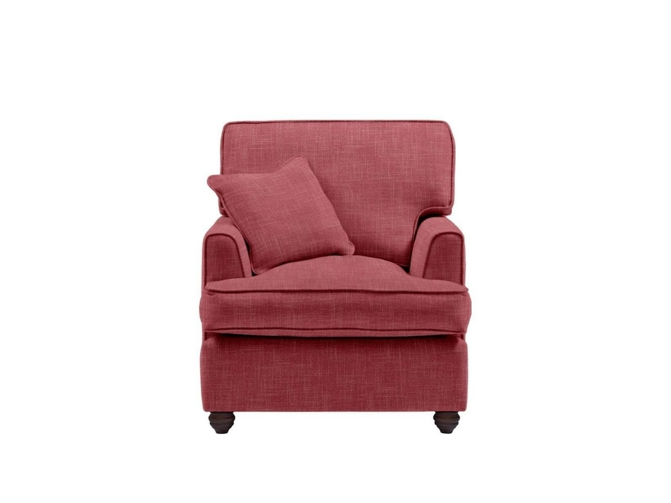This is how I look in Linen Cranberry with a siliconized hollow fibre seat cushion