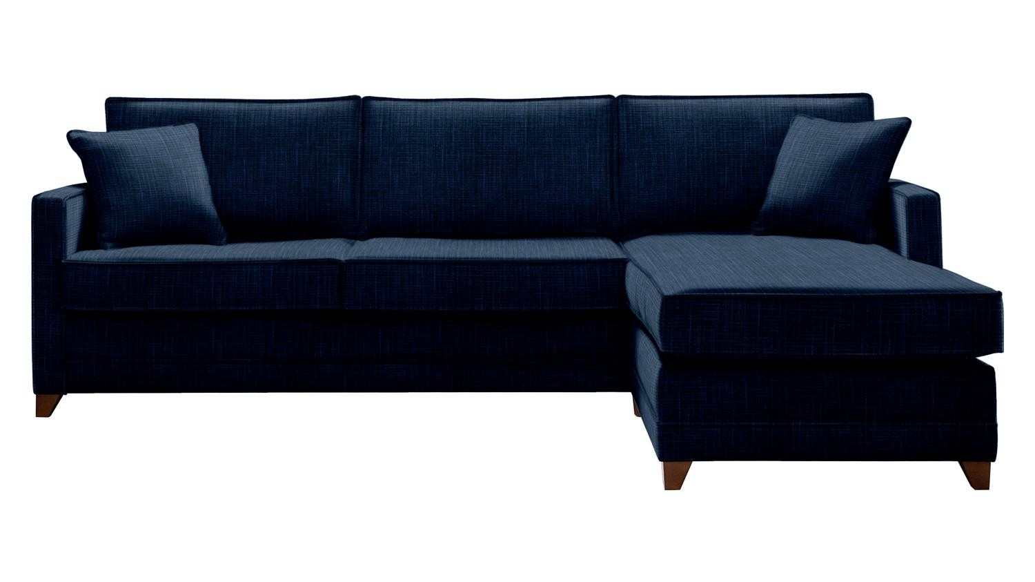 The Marston 5 Seater Right Chaise Storage Sofa Bed